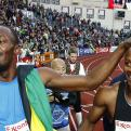 Usain Bolt y Yohan Blake