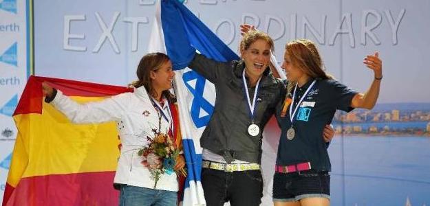 Marina Alabau, bronce en RSX en Perth. Foto:lainformacion.com/Europapress