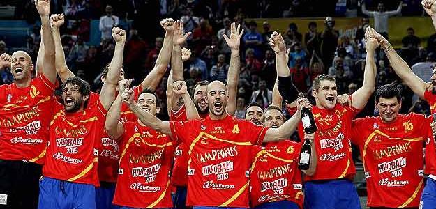 Balonmano, España campeón en 2013