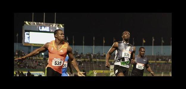 Usain Bolt y Yohan Blake