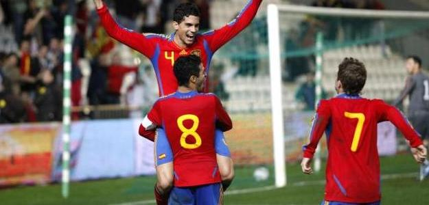 España, actual campeona de Europa Sub 21. Foto:lainformacion.com/EFE