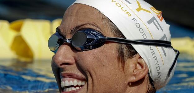 Janet Evans y el secreto de la eterna juventud. Foto:eldepornauta.com.ar