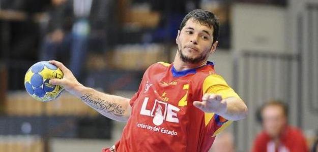 Alberto Entrerríos con la Selección Española. Foto:lainformacion.com