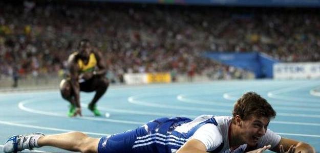 Cristophe Lemaitre, el mejor blanco. Fot$o:lainformacion.com/Getty Images