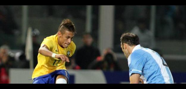 Neymar, de Brasil. Foto: lainformacion.com