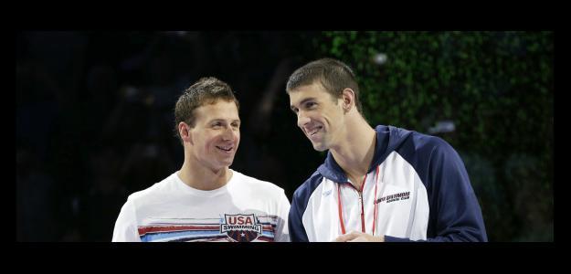 Phelps y Lochte en los Juegos Olímpicos de Londres 2012
