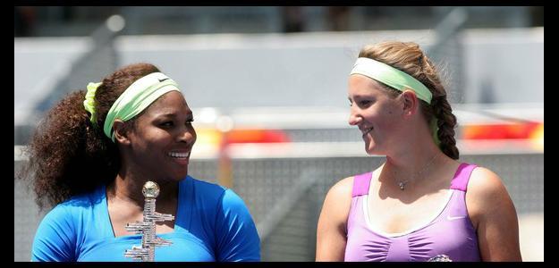 Serena Williams y Azarenka