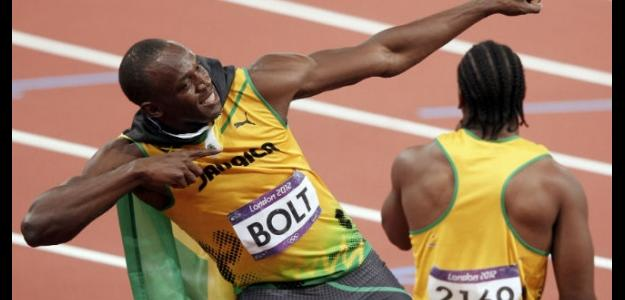 Usain Bolt en Londres 2012